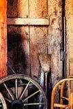 Old barn interior background Royalty Free Stock Photos