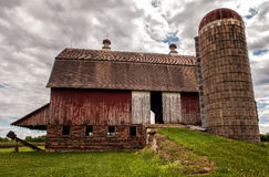 Old Barn - 7. The legendary Sugardale barn in rural southern Minnesota Royalty Free Stock Photography