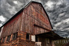 Old Barn - 23. The legendary Sugardale barn in rural southern Minnesota Royalty Free Stock Photos