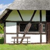 Old barn in Mecklenburg in Germany Royalty Free Stock Photo