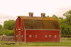 Old Barn in Montana Royalty Free Stock Photo