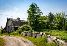Old Barn near Fort Langley Royalty Free Stock Photo
