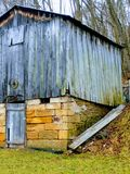 Old Barn. Near Meadowbrook and Clarksburg WV royalty free stock images