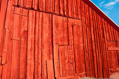 Old Barn with New Paint stock photos