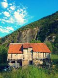 Old barn in Norway Royalty Free Stock Photos