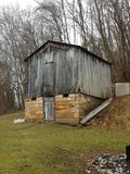 Old Barn. Near Meadowbrook and Clarksburg WV royalty free stock photo