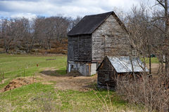 Old Barn in Ontario Royalty Free Stock Image