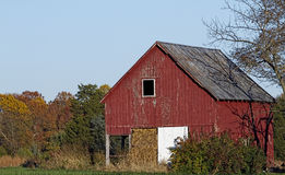Old Barn Out Building Fall season Royalty Free Stock Image