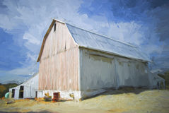 This Old Barn Royalty Free Stock Photography