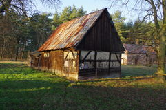 Old barn. Stock Images