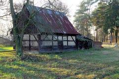 Old barn. Stock Photo