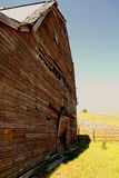 Old Barn on the plains Stock Photography