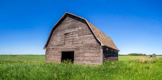 Old barn on the prairies Royalty Free Stock Image