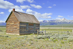 Old Barn on Ranch in the American West, USA Stock Photography