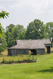 Old Barn in rural amish midwest missouri land royalty free stock image