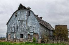 Old Barn - 12. An old barn in rural Hanska Minnesota Stock Photos