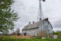 Old Barn - 19. An old barn in rural Hanska Minnesota Royalty Free Stock Photography