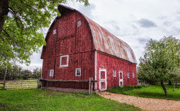 Old Barn - 21. An old barn in rural Mankato Minnesota Royalty Free Stock Photography