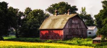 Old Barn - 18 Stock Photo