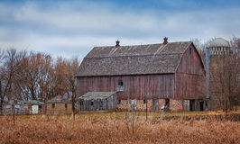 Old Barn - 11. An old barn in rural Prior Lake Minnesota Stock Images
