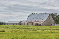 Old Barn Stock Photo