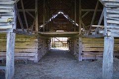 Old Barn. In Smokey Mountain Natn'l Park Royalty Free Stock Photos
