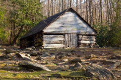 Old barn in Smoky Mountains Stock Photo