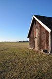 Old barn in spring Royalty Free Stock Images
