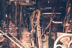 Old Barn Stuff Royalty Free Stock Photography