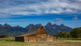 Old Barn in the Tetons Royalty Free Stock Photos