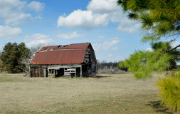 Old Barn in Texas Royalty Free Stock Photos