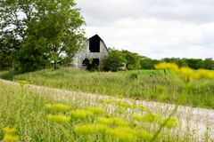 Old Barn. Old time farming style rural Missouri Stock Photos