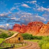 Old barn in Utah Stock Photography