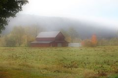 Old barn in Vermont Royalty Free Stock Images