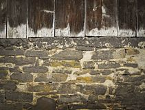 Old barn wall Royalty Free Stock Photography