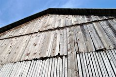 Old barn wall Stock Photo