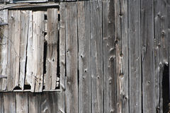 Old Barn Window Stock Photography
