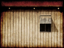 Old barn window Stock Images