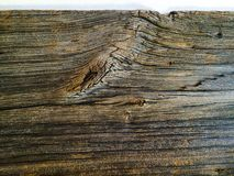 Old Barn Wood Board with edge Stock Photography