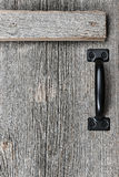 Old barn wood door Royalty Free Stock Photos