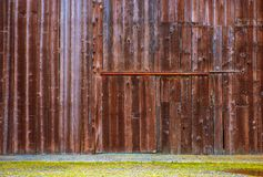 Old Barn Wooden Wall Royalty Free Stock Images