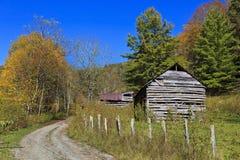 Old Barns Stock Photo