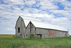 Old Barns New Steel Roof Royalty Free Stock Images