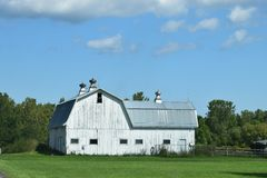 Old Barns in New York Royalty Free Stock Images
