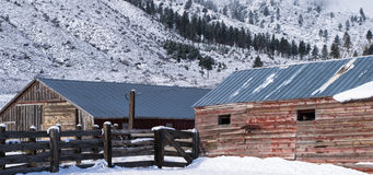 Old Barns Stock Images
