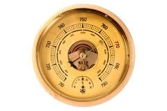 Old barometer. The old barometer, vintage system royalty free stock photo