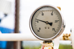 Old Barometer Stock Photography