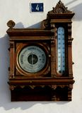 Old barometer of Luarca, Asturias, Spain Royalty Free Stock Photography