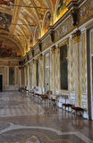Old baroque palace hall in Mantua Italy. Royalty Free Stock Photography
