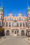 Old baroque style great armory Gdansk, Poland Stock Photo
